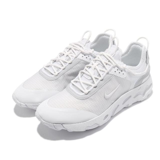 【NIKE 耐吉】休閒鞋 React Live 運動 男鞋 輕量 透氣 舒適 簡約 球鞋 穿搭 白(CV1772-101)