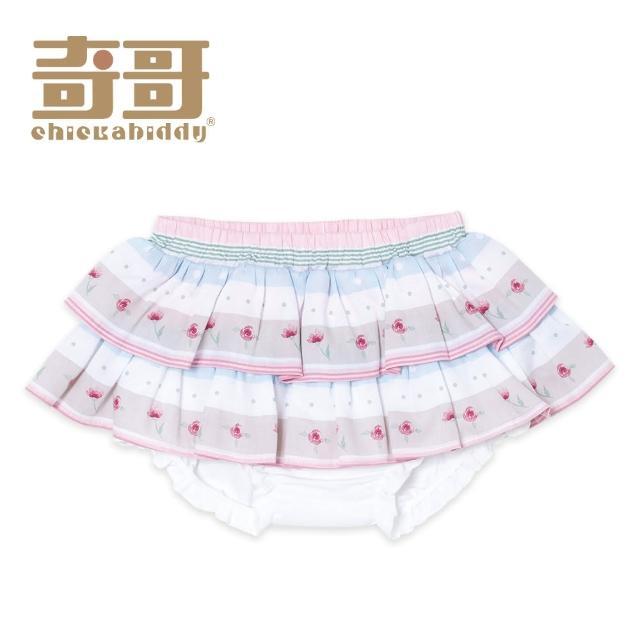 【奇哥】開心寶貝小花褲裙/三角褲(6-36個月)