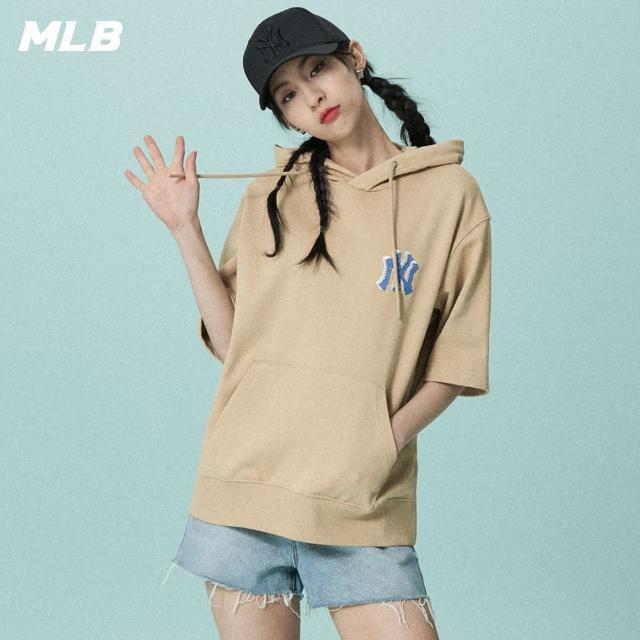 MLB【MLB】五分袖帽T 基本款 紐約洋基隊(31HD51131-50B)