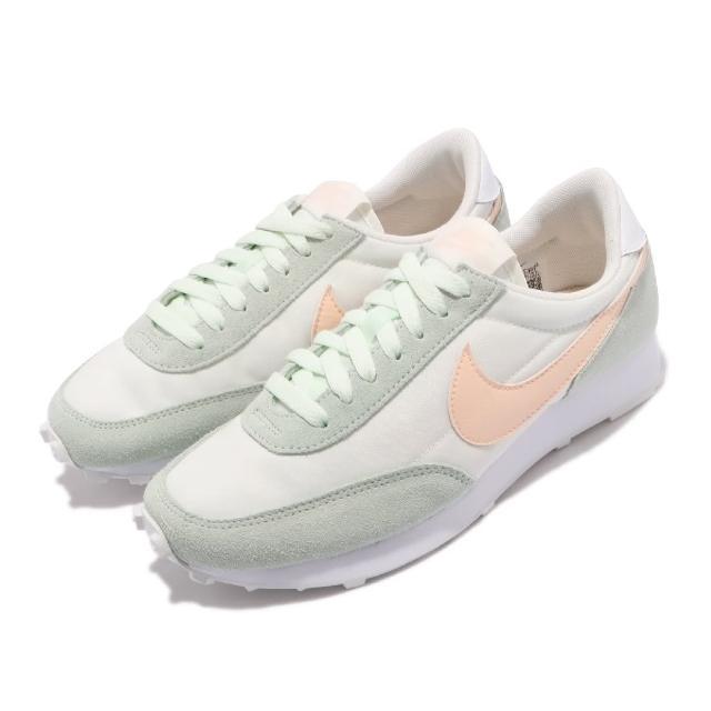 【NIKE 耐吉】休閒鞋 DBreak 低筒 復古 運動 女鞋 經典款 舒適 簡約 球鞋 穿搭 麂皮 綠 橘(CK2351-107)
