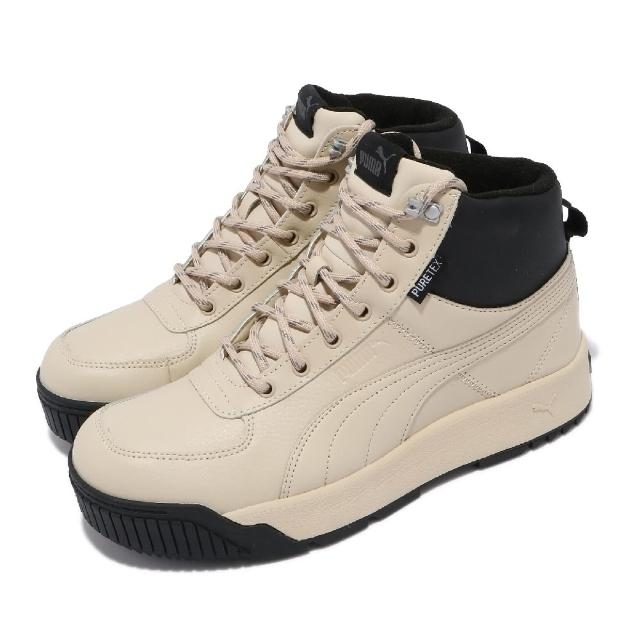 【PUMA】休閒鞋 Tarrenz SB Puretex 男鞋 海外限定 中筒 皮革鞋面 穿搭 卡其 黑(37055203)