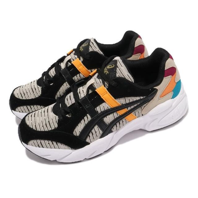 【asics 亞瑟士】休閒鞋 GEL-BND 復古 男鞋 亞瑟士 緩震 舒適 撞色 亞瑟膠 淺褐 黑(1021A392200)