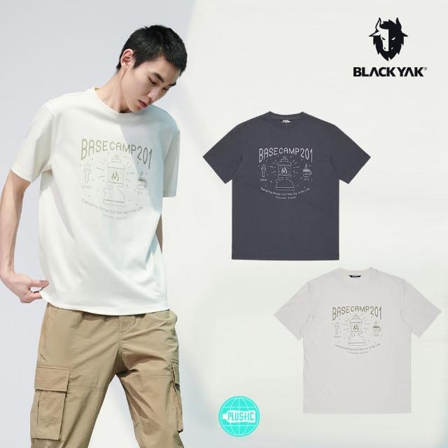 【BLACK YAK】cc CAMPBELL短袖上衣[碳灰/燕麥色]BYAB1NC505(韓國春夏 短袖 中性款 上衣)