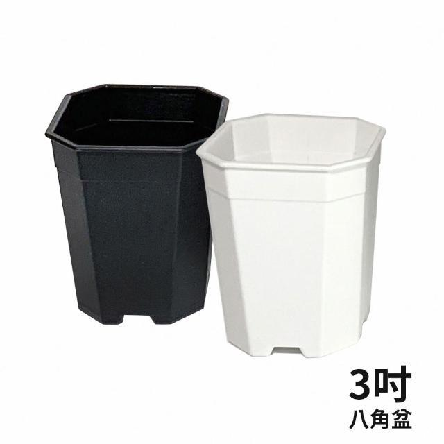 【生活King】3吋八角花盆(3入組)