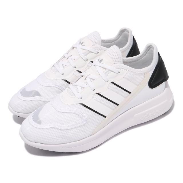 【adidas 愛迪達】休閒鞋 ZX 2K Florine 運動 女鞋 愛迪達 輕量透氣 舒適 避震 反光 穿搭 白 黑(FW0089)