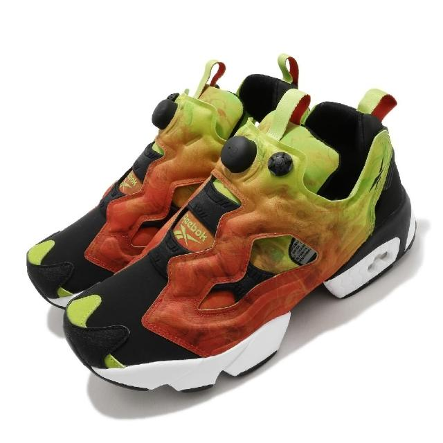 【REEBOK】休閒鞋 Instapump Fury OG 男鞋 經典款 充氣科技 舒適 穿搭 漸層色 黑 紅(FV1576)
