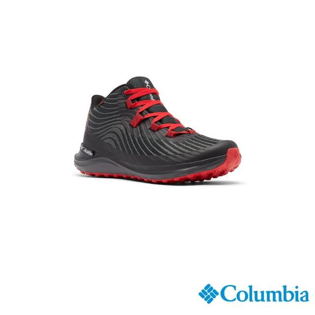 【Columbia 哥倫比亞】男款- Outdry防水機能健走鞋-黑色(UBM01610BK / 健走.運動.防水)