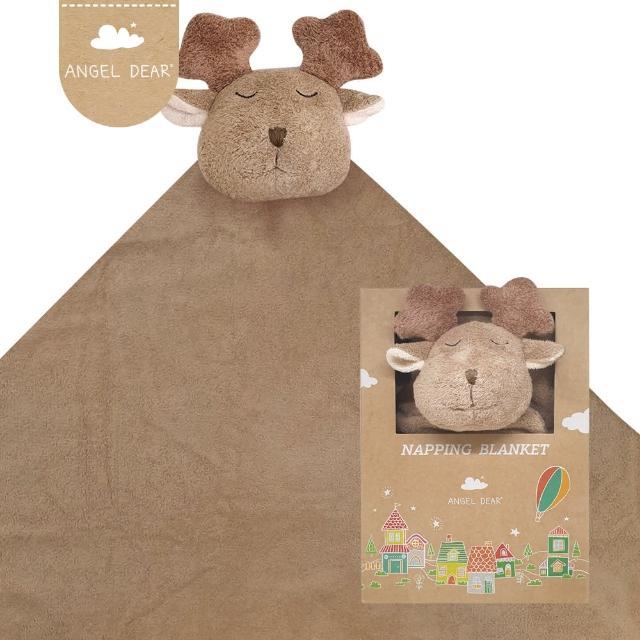 【Angel Dear】大頭動物嬰兒毛毯禮盒(小麋鹿)