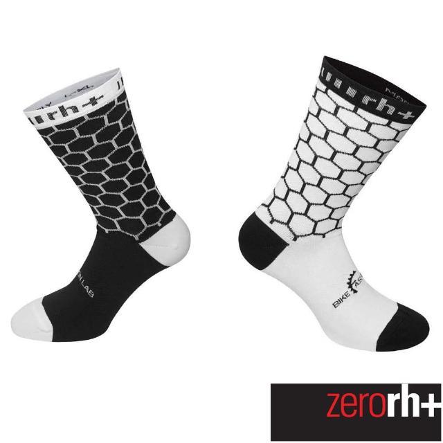 【ZeroRH+】義大利高筒運動襪(黑/白 ECX9154_34Z)