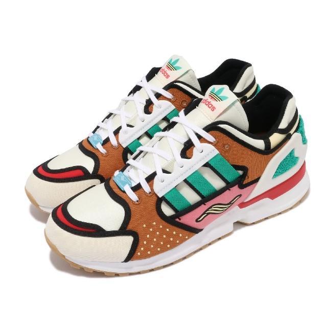 【adidas 愛迪達】休閒鞋 ZX 10000 聯名款 運動 男鞋 愛迪達 辛普森 舒適 簡約 球鞋 穿搭 棕 彩(H05783)