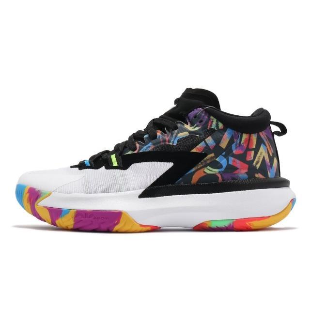 【NIKE 耐吉】籃球鞋 男鞋 胖虎 彩色 簽名鞋 首發JORDAN ZION 1 PF DA3129001