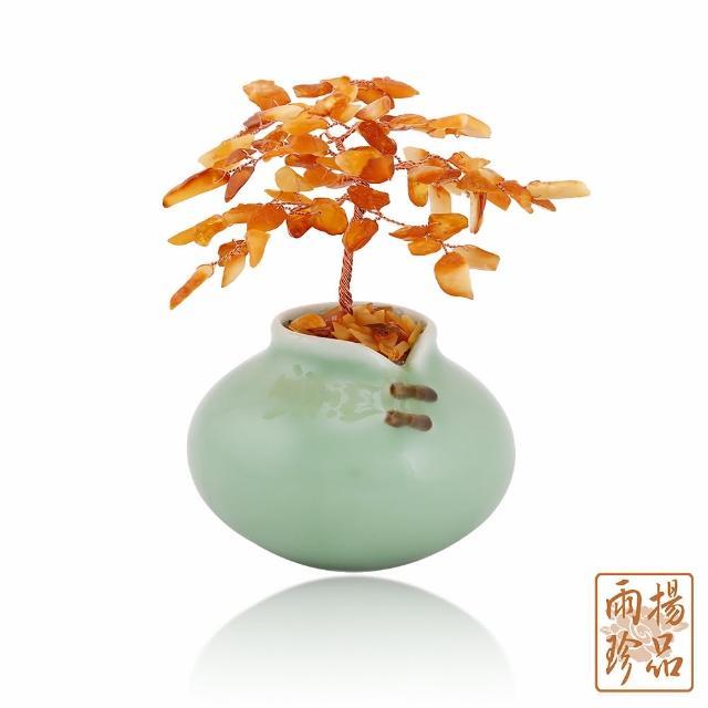 【雨揚】聚財蜜蠟琥珀樹