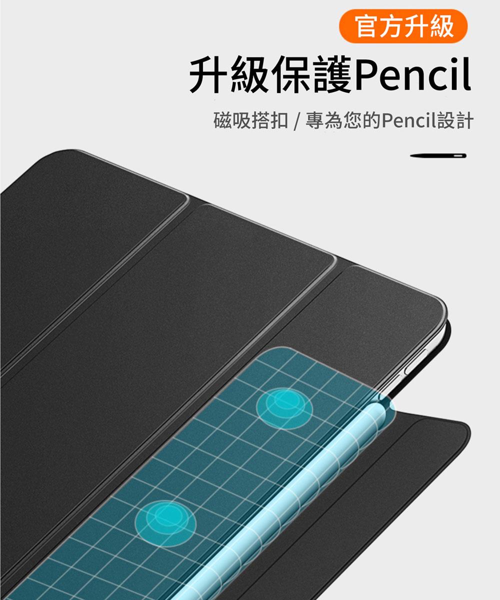 「Mass」iPad Pro 第 5 代 12.9 吋 官方同款磁吸雙面夾(iPad Pro 2021 保護套 ...