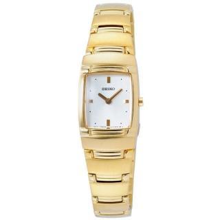 【SEIKO】酒桶型都會時尚腕錶-金(SUJE96P1)