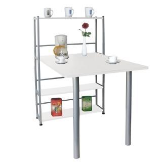 【美佳居】80X120公分寬-4 層置物架型-大餐桌(台灣製造)