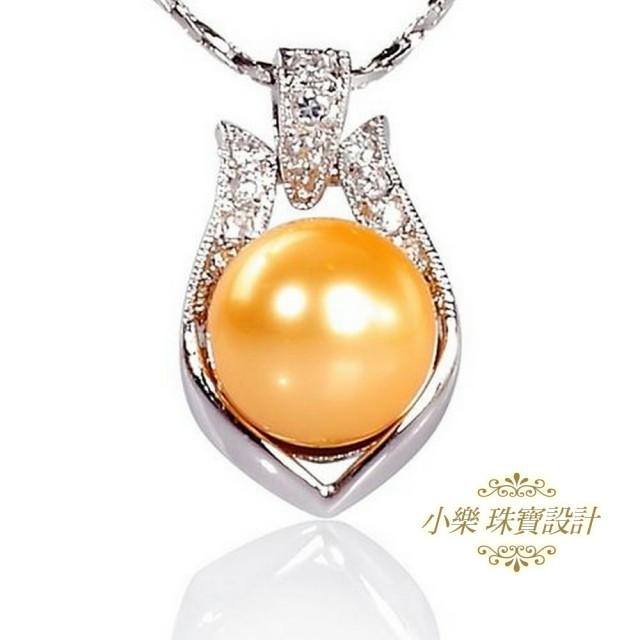 【小樂珠寶】全美南洋深海貝珍珠墜子★公主款
