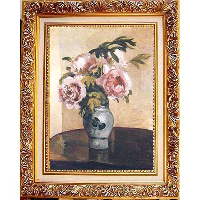 【開運陶源】Camille Pissarro卡密爾‧畢沙羅-粉牡丹中幅(中幅)