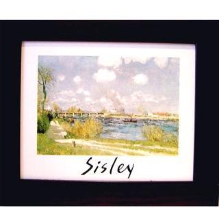 【開運陶源】Sisley 世界名畫(複製畫)