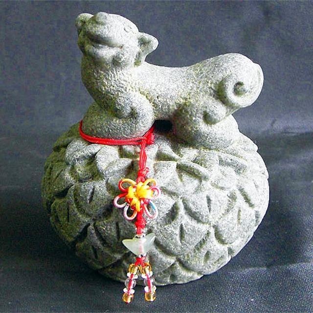 【雕塑藝術大師 羅廣維】開運陶源《秤心如意》石塑造(十二生肖-狗)
