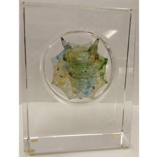 【開運陶源】精緻版 水晶琉璃獎牌