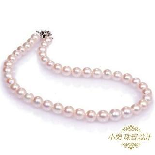 (小樂珠寶)3A南洋深海貝珍珠項鍊★白色