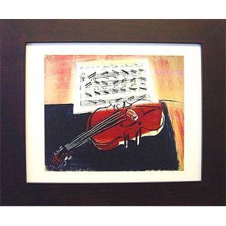 【開運陶源】Raoul Dufy的畫-(紅色小提琴)