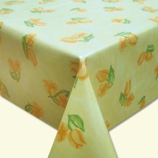 【棉花田】風中花-PVC防水貼合桌巾(130x130cm)
