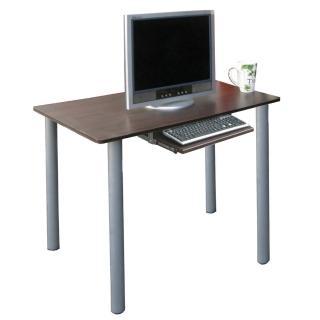 【美佳居】75公分高(60x80)平面電腦桌/書桌(含鍵盤抽)(二色可選)