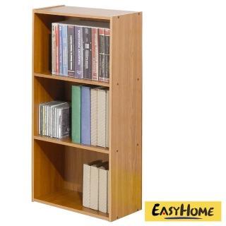【EASY HOME】經典簡約開放式三格收納櫃