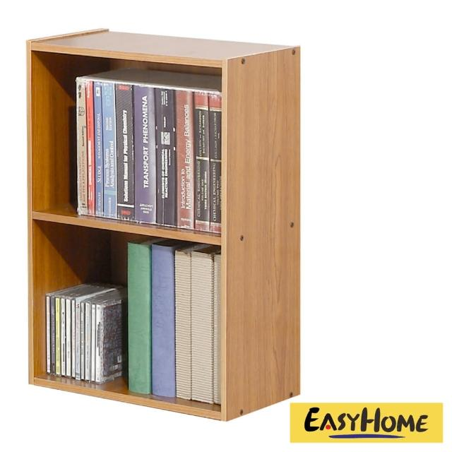 【EASY HOME】經典簡約開放式二格收納櫃