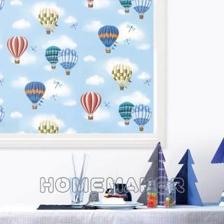 【Decoin】彩繪窗貼-熱氣球(HN-GS10A)