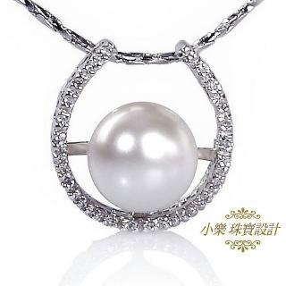 (小樂珠寶)頂級天然珍珠墜子★簡約美麗款