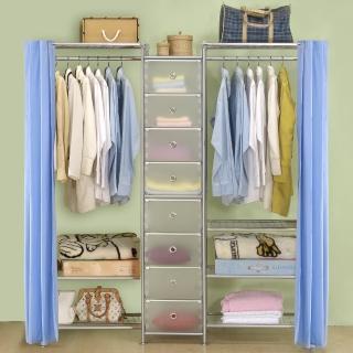 【巴塞隆納】W3型60+D+W4型60衣櫥置物櫃