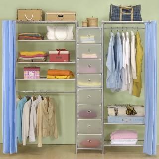 【巴塞隆納】W3型60+D+W4型90衣櫥置物櫃