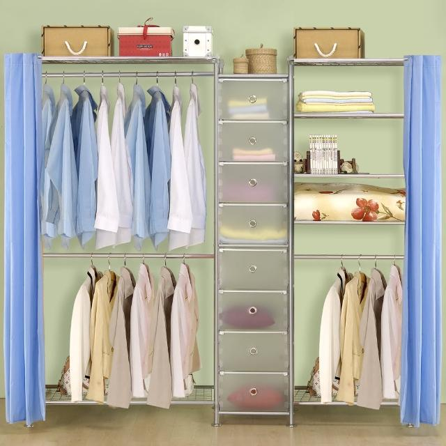 【巴塞隆納】W2型90+D+W5型60衣櫥置物櫃