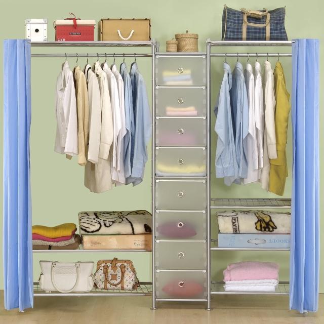 【巴塞隆納】W3型90+D+W4型60衣櫥置物櫃