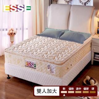 【ESSE御璽名床】紓壓記憶正三線獨立筒床墊(雙人加大)