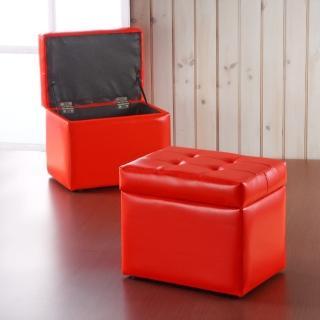 【EASY HOME】歐緹超厚QQ沙發收納椅(兩色可選)