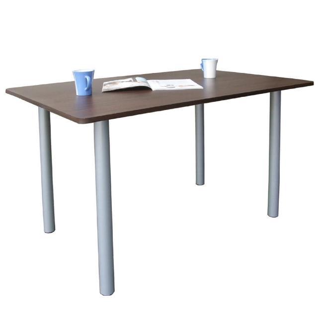 【美佳居】桌面(深60x寬120/公分)工作桌/書桌/電腦桌/會議桌(深胡桃木色)