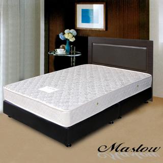 (Maslow-貴族胡桃)雙人床組-5尺(不含床墊)