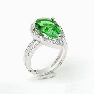蕾帝兒名品-魅艷千禧綠曜戒指