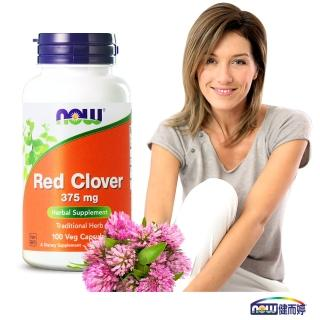 【NOW健而婷】紅花苜蓿-頂級植物異黃酮(100顆/瓶)