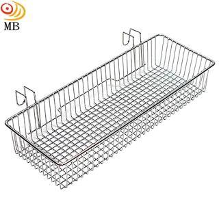 台灣製造不鏽鋼長方型寬版筷籠(Y92)