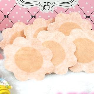 【MICCH】台灣製拋棄式花瓣型胸貼五副組