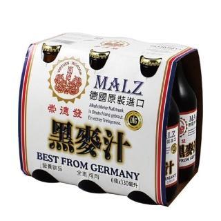 【崇德發】黑麥汁(330mlx6瓶)