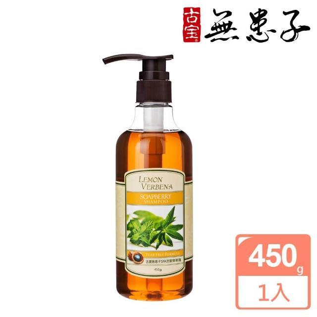 【古寶無患子】檸檬馬鞭草洗髮精露(450gX1入)