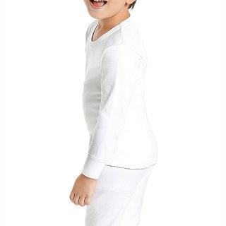 【小宜而爽】男童羅紋厚棉衛生衣(3件組-尺寸32)