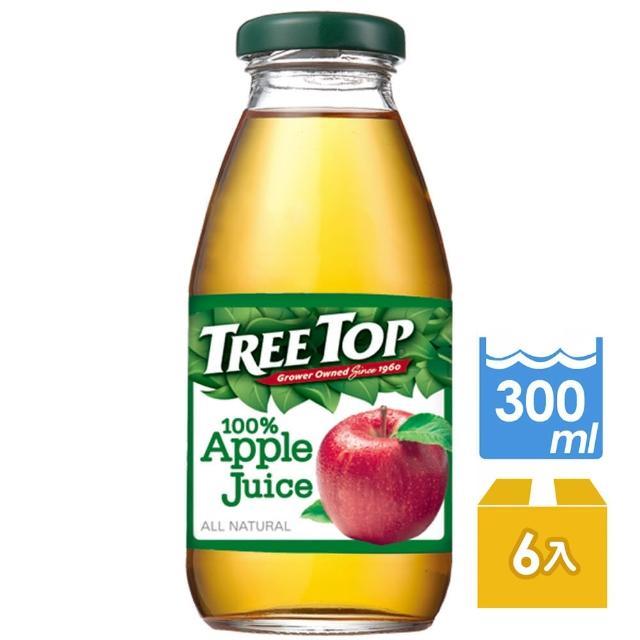 【Tree top】樹頂蘋果汁300ml*6罐