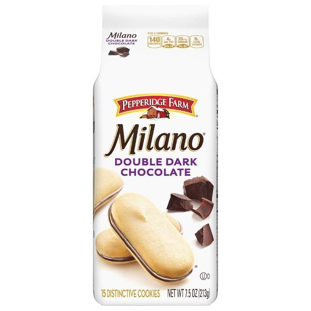 【琣伯莉】雙層巧克力米蘭餅乾213g