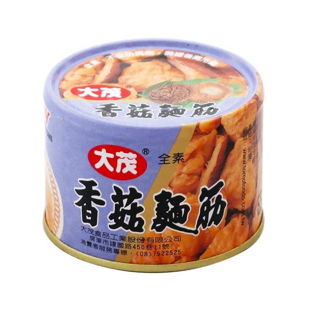 《大茂》香菇麵筋-鐵  170g